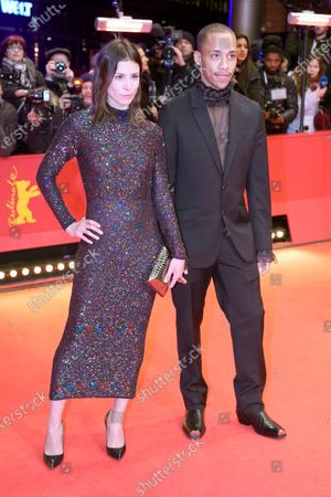 Stock Photo of Jerry Hoffmann (R) and Aylin Tezel arrive for the Opening Ceremony of the 70th annual Berlin International Film Festival (Berlinale), in Berlin, Germany, 20 February 2020. The Berlinale runs from 20 February to 01 March 2020.