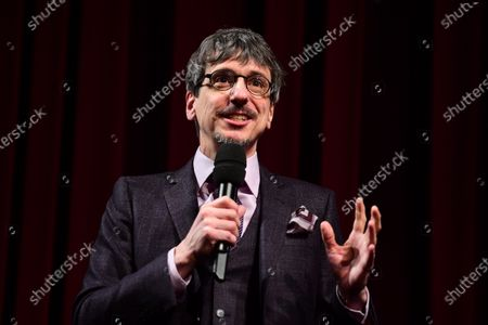 Philippe Falardeau speaks on stage during the Opening Ceremony of the 70th annual Berlin International Film Festival (Berlinale), in Berlin, Germany, 20 February 2020. The Berlinale runs from 20 February to 01 March 2020.