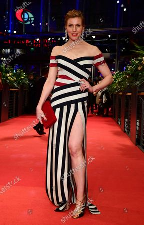 Franziska Weisz arrives for the Opening Ceremony of the 70th annual Berlin International Film Festival (Berlinale), in Berlin, Germany, 20 February 2020. The Berlinale runs from 20 February to 01 March 2020.