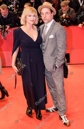 Jan Josef Liefers (R) and Anna Loos arrive for the Opening Ceremony of the 70th annual Berlin International Film Festival (Berlinale), in Berlin, Germany, 20 February 2020. The Berlinale runs from 20 February to 01 March 2020.