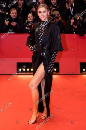 Stefanie Giesinger arrives for the Opening Ceremony of the 70th annual Berlin International Film Festival (Berlinale), in Berlin, Germany, 20 February 2020. The Berlinale runs from 20 February to 01 March 2020.