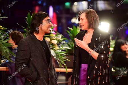 Fatih Akin (L) and Christiane Paul attend the Opening Ceremony of the 70th annual Berlin International Film Festival (Berlinale), in Berlin, Germany, 20 February 2020. The Berlinale runs from 20 February to 01 March 2020.