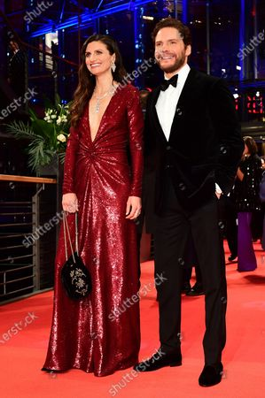 Dr. Felicitas Rombold (L) and Daniel Bruehl (R) arrive for the Opening Ceremony of the 70th annual Berlin International Film Festival (Berlinale), in Berlin, Germany, 20 February 2020. The Berlinale runs from 20 February to 01 March 2020.