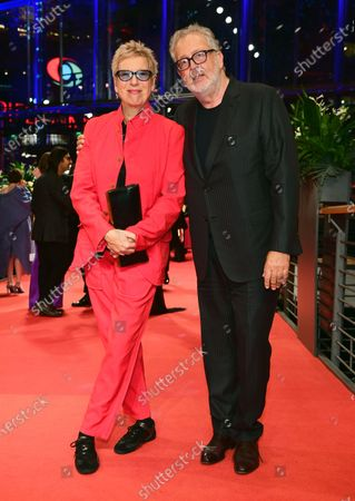 Doris Doerrie (L) and husband Martin Moszkowicz (R) arrive for the Opening Ceremony of the 70th annual Berlin International Film Festival (Berlinale), in Berlin, Germany, 20 February 2020. The Berlinale runs from 20 February to 01 March 2020.