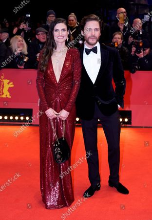 Daniel Bruehl (R) and Felicitas Rombold arrive for the Opening Ceremony of the 70th annual Berlin International Film Festival (Berlinale), in Berlin, Germany, 20 February 2020. The Berlinale runs from 20 February to 01 March 2020.