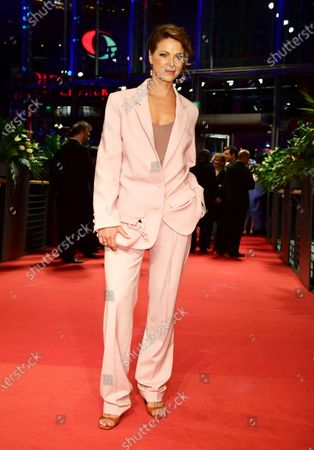 Jessica Schwarz arrives for the Opening Ceremony of the 70th annual Berlin International Film Festival (Berlinale), in Berlin, Germany, 20 February 2020. The Berlinale runs from 20 February to 01 March 2020.