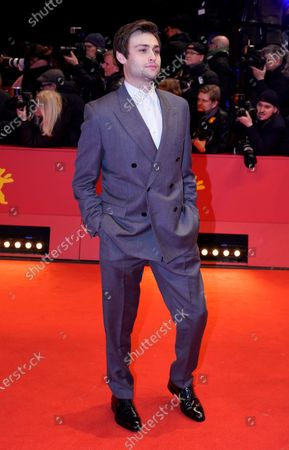 Douglas Booth arrives for the Opening Ceremony of the 70th annual Berlin International Film Festival (Berlinale), in Berlin, Germany, 20 February 2020. The Berlinale runs from 20 February to 01 March 2020.