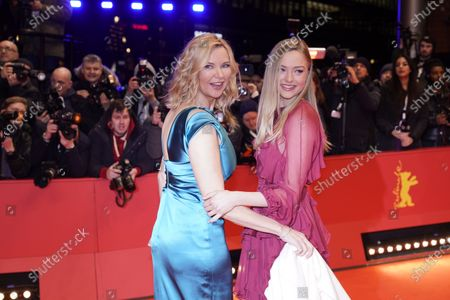 Veronica Ferres (L) and her daughter Lilly Krug arrive for the Opening Ceremony of the 70th annual Berlin International Film Festival (Berlinale), in Berlin, Germany, 20 February 2020. The Berlinale runs from 20 February to 01 March 2020.