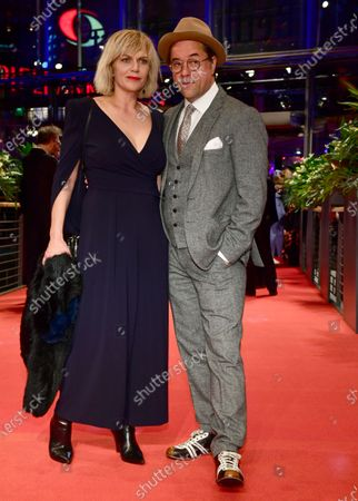 Anna Loos (L) and her husband Jan Josef Liefers (R) arrive for the Opening Ceremony of the 70th annual Berlin International Film Festival (Berlinale), in Berlin, Germany, 20 February 2020. The Berlinale runs from 20 February to 01 March 2020.