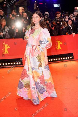 Lea van Acken arrives for the Opening Ceremony of the 70th annual Berlin International Film Festival (Berlinale), in Berlin, Germany, 20 February 2020. The Berlinale runs from 20 February to 01 March 2020.