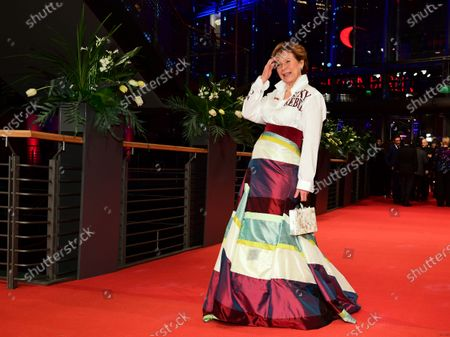 Marion Kracht arrives for the Opening Ceremony of the 70th annual Berlin International Film Festival (Berlinale), in Berlin, Germany, 20 February 2020. The Berlinale runs from 20 February to 01 March 2020.