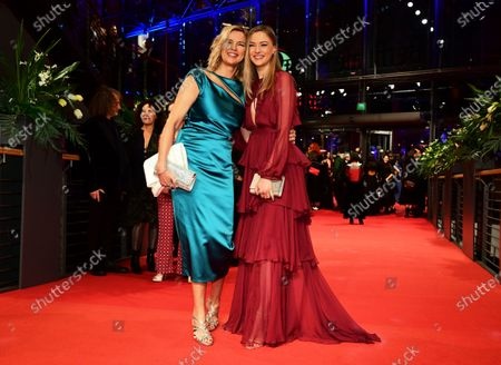 Veronica Ferres (L) and daughter Lilly Krug (R) arrive for the Opening Ceremony of the 70th annual Berlin International Film Festival (Berlinale), in Berlin, Germany, 20 February 2020. The Berlinale runs from 20 February to 01 March 2020.