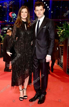 Sam Riley (R) and Alexandra Maria Lara (L) arrive for the Opening Ceremony of the 70th annual Berlin International Film Festival (Berlinale), in Berlin, Germany, 20 February 2020. The Berlinale runs from 20 February to 01 March 2020.