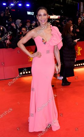 Annabelle Mandeng arrives for the Opening Ceremony of the 70th annual Berlin International Film Festival (Berlinale), in Berlin, Germany, 20 February 2020. The Berlinale runs from 20 February to 01 March 2020.