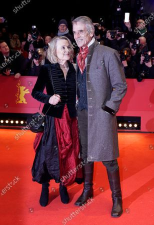 International Jury president Jeremy Irons (R) and his wife Sinead Cusack arrive for the Opening Ceremony of the 70th annual Berlin International Film Festival (Berlinale), in Berlin, Germany, 20 February 2020. The Berlinale runs from 20 February to 01 March 2020.