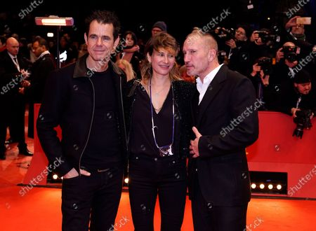 Stock Photo of Tom Tykwer, Marie Steinmann and Benno Fuermann arrive for the Opening Ceremony of the 70th annual Berlin International Film Festival (Berlinale), in Berlin, Germany, 20 February 2020. The Berlinale runs from 20 February to 01 March 2020.