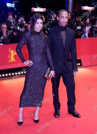 Stock Picture of Jerry Hoffmann (R) and Aylin Tezel arrive for the Opening Ceremony of the 70th annual Berlin International Film Festival (Berlinale), in Berlin, Germany, 20 February 2020. The Berlinale runs from 20 February to 01 March 2020.