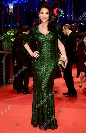 Mariella Ahrens arrives for the Opening Ceremony of the 70th annual Berlin International Film Festival (Berlinale), in Berlin, Germany, 20 February 2020. The Berlinale runs from 20 February to 01 March 2020.