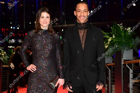 Stock Image of Jerry Hoffmann (R) and Aylin Tezel arrive for the Opening Ceremony of the 70th annual Berlin International Film Festival (Berlinale), in Berlin, Germany, 20 February 2020. The Berlinale runs from 20 February to 01 March 2020.