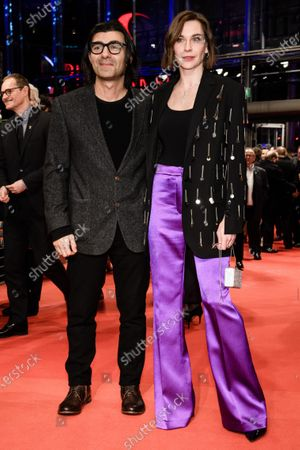 Christiane Paul (R) and German director Fatih Akin arrive for the Opening Ceremony of the 70th annual Berlin International Film Festival (Berlinale), in Berlin, Germany, 20 February 2020. The Berlinale runs from 20 February to 01 March 2020.