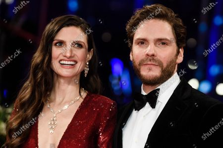 Daniel Bruehl (R) and wife Felicitas Rombold arrive for the Opening Ceremony of the 70th annual Berlin International Film Festival (Berlinale), in Berlin, Germany, 20 February 2020. The Berlinale runs from 20 February to 01 March 2020.