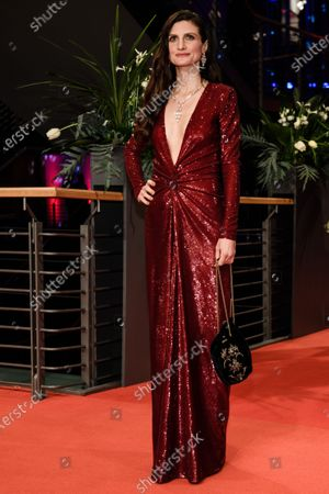 Felicitas Rombold, the wife German actor Daniel Bruehl (not in the picture), arrives for the Opening Ceremony of the 70th annual Berlin International Film Festival (Berlinale), in Berlin, Germany, 20 February 2020. The Berlinale runs from 20 February to 01 March 2020.