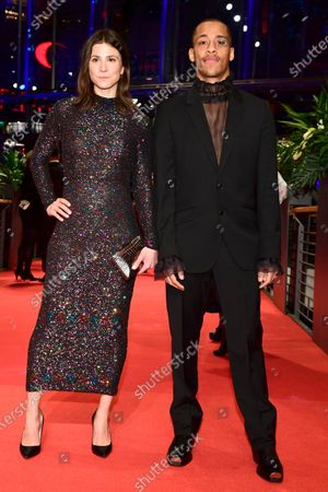 Jerry Hoffmann (R) and Aylin Tezel arrive for the Opening Ceremony of the 70th annual Berlin International Film Festival (Berlinale), in Berlin, Germany, 20 February 2020. The Berlinale runs from 20 February to 01 March 2020.