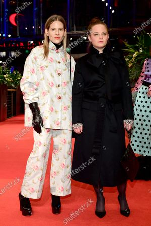 Aino Laberenz and German actress Jasna Fritzi Bauer (R) arrive for the Opening Ceremony of the 70th annual Berlin International Film Festival (Berlinale), in Berlin, Germany, 20 February 2020. The Berlinale runs from 20 February to 01 March 2020.