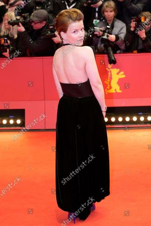 Karoline Schuch arrives for the Opening Ceremony of the 70th annual Berlin International Film Festival (Berlinale), in Berlin, Germany, 20 February 2020. The Berlinale runs from 20 February to 01 March 2020.
