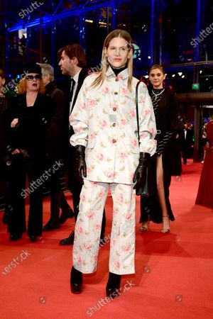 Stock Photo of Aino Laberenz arrives for the Opening Ceremony of the 70th annual Berlin International Film Festival (Berlinale), in Berlin, Germany, 20 February 2020. The Berlinale runs from 20 February to 01 March 2020.