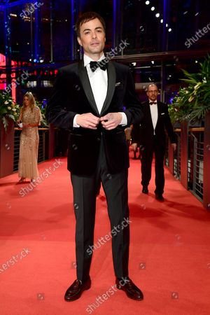 Stock Image of Nikolai Kinski arrives for the Opening Ceremony of the 70th annual Berlin International Film Festival (Berlinale), in Berlin, Germany, 20 February 2020. The Berlinale runs from 20 February to 01 March 2020.