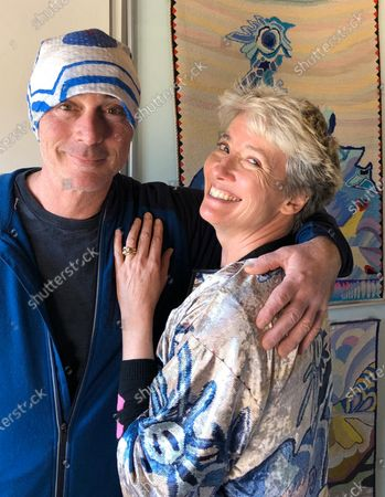 Editorial photo of Emma Thompson and husband Greg Wise register for residency in Venice, Italy - 20 Feb 2020
