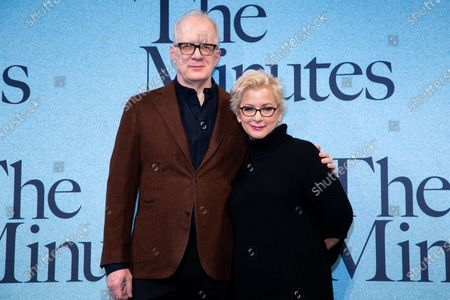 Stock Image of Tracy Letts and Anna D Shapiro