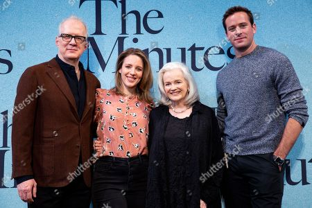 Tracy Letts, Jessie Mueller, Blair Brown and Armie Hammer