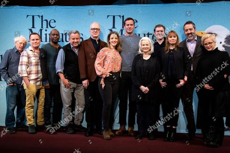 Stock Photo of Austin Pendleton, Danny McCarthy, K. Todd Freeman, Jeff Still, Tracy Letts, Jessie Mueller, Armie Hammer, Blair Brown, Cliff Chamberlain, Sally Murphy, Ian Barford and Anna Shapiro