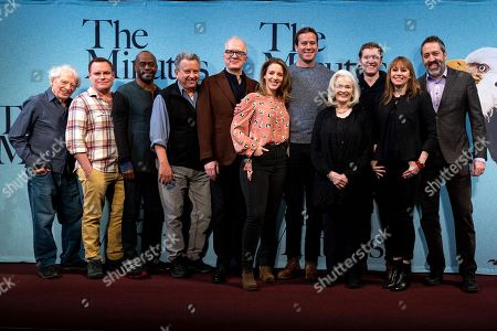 Stock Image of Austin Pendleton, Danny McCarthy, K. Todd Freeman, Jeff Still, Tracy Letts, Jessie Mueller, Armie Hammer, Blair Brown, Cliff Chamberlain, Sally Murphy and Ian Barford