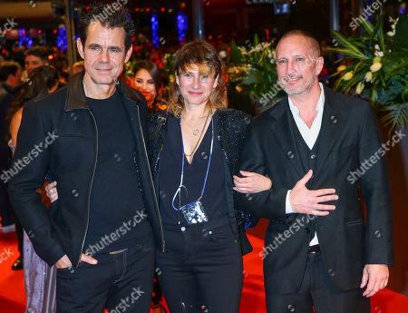 Tom Tykwer, Marie Steinmann and Benno Fuermann