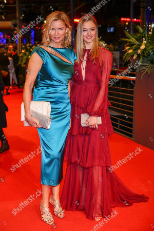 Veronica Ferres and Lilly Krug