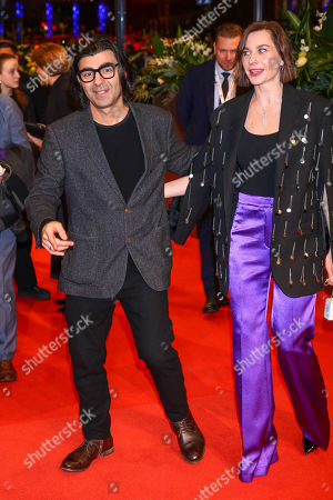 Stock Picture of Fatih Akin and Christiane Paul