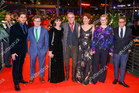 Stock Picture of Jury - Luca Marinelli, Kenneth Lonergan, Berenice Bejo, Jeremy Irons, Annemarie Jacir and Bettina Brokemper