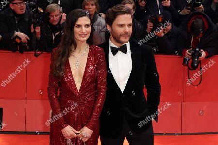 Stock Photo of Felicitas Rombold and Daniel Bruhl