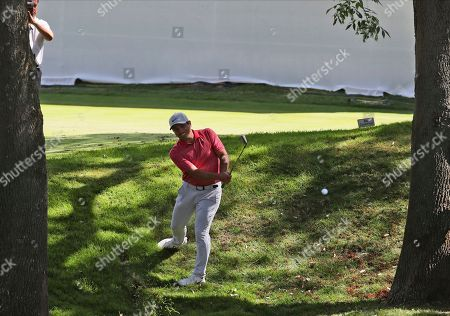 Stock Picture of Francesco Molinari of Italy approaches the first green during the first round of the WGC-Mexico Championship golf tournament, at Chapultepec Golf Club in Mexico City, Mexico City