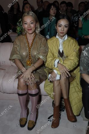 Tina Leung in the front row