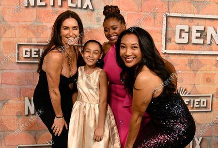 Stock Picture of Teri Weinberg, Bianca Melgar, Aaliyah Williams and Monica Macer