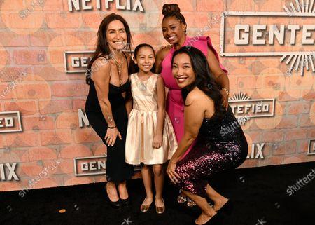 Teri Weinberg, Bianca Melgar, Aaliyah Williams and Monica Macer
