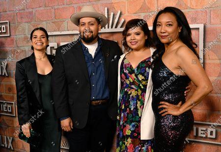 America Ferrera, Marvin Lemus, Linda Yvette Chavez and Monica Macer