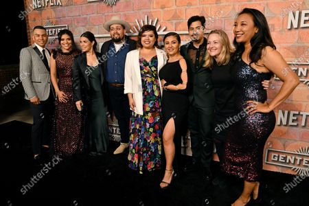 Editorial picture of 'Gente-fied: The Digital Series' TV show premiere, Arrivals, Plaza de la Raza Gallery, Los Angeles, USA - 20 Feb 2020