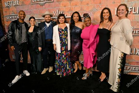 Editorial photo of 'Gente-fied: The Digital Series' TV show premiere, Arrivals, Plaza de la Raza Gallery, Los Angeles, USA - 20 Feb 2020
