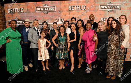 Editorial image of 'Gente-fied: The Digital Series' TV show premiere, Arrivals, Plaza de la Raza Gallery, Los Angeles, USA - 20 Feb 2020