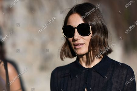 Editorial picture of Street style, Fall Winter 2020, Milan Fashion Week, Italy - 20 Feb 2020